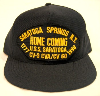 USS Saratoga Homecoming Hat