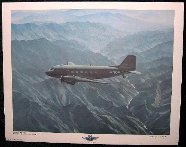 Douglas C-47 Dakota Airplane by RG Smith